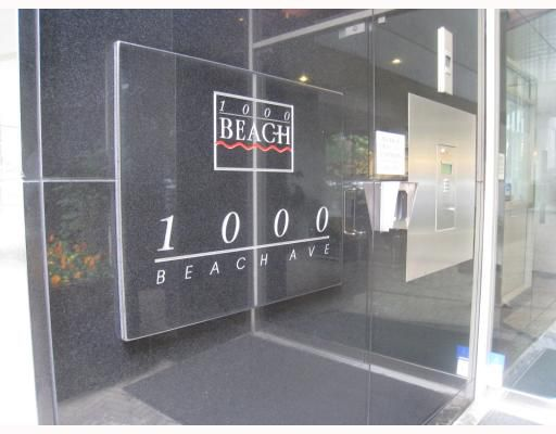 """Main Photo: 1101 1000 BEACH Avenue in Vancouver: False Creek North Condo for sale in """"1000 Beach"""" (Vancouver West)  : MLS®# V781234"""