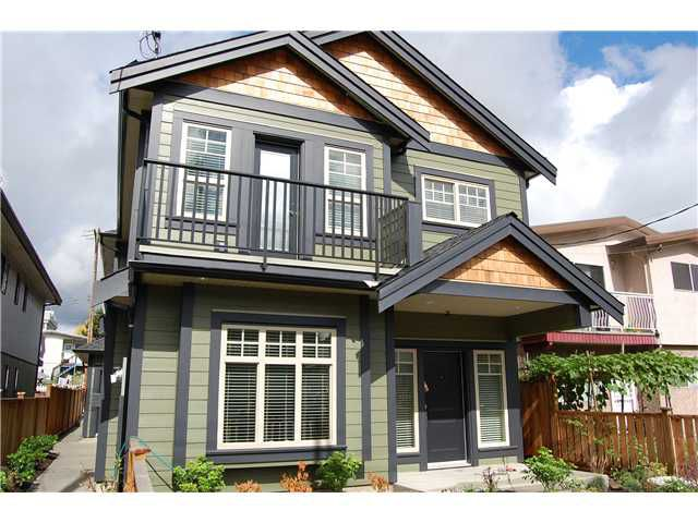 "Main Photo: 1777 E 12TH Avenue in Vancouver: Grandview VE House 1/2 Duplex for sale in ""GRANDVIEW"" (Vancouver East)  : MLS®# V851693"