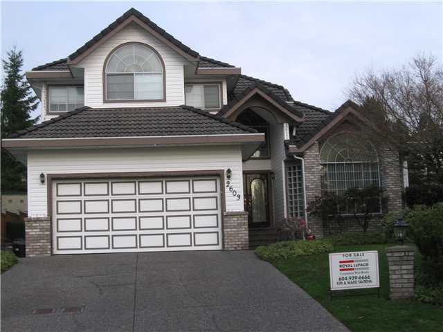 Main Photo: 2603 LIMESTONE Place in Coquitlam: Westwood Plateau House for sale : MLS®# V859132