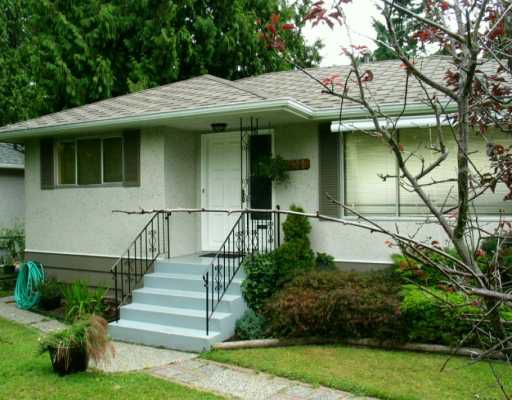 Main Photo: 611 LINTON ST in Coquitlam: Central Coquitlam House for sale : MLS®# V606483