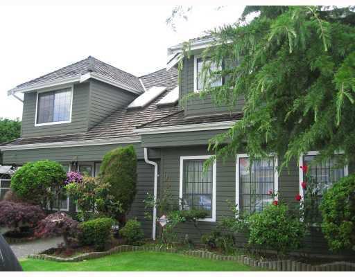 "Main Photo: 9224 EVANCIO Crescent in Richmond: Lackner House for sale in ""REDWOOD"" : MLS®# V756652"