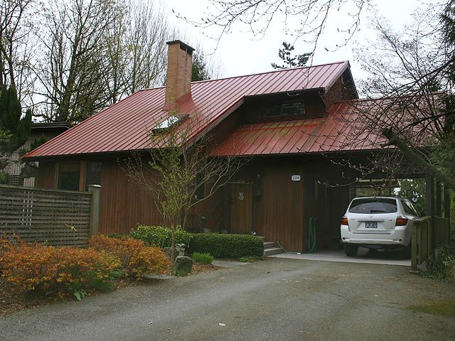 Sought after west coast contemporary with life time guaranteed metal roof!