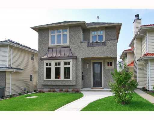 Main Photo: 8491 LAUREL Street in Vancouver: Marpole House 1/2 Duplex for sale (Vancouver West)  : MLS®# V780511