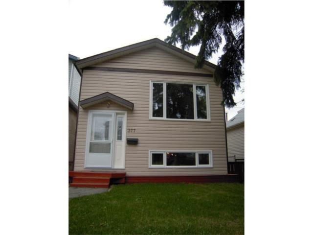 Main Photo: 377 Brooklyn Street in WINNIPEG: St James Residential for sale (West Winnipeg)  : MLS®# 1008206