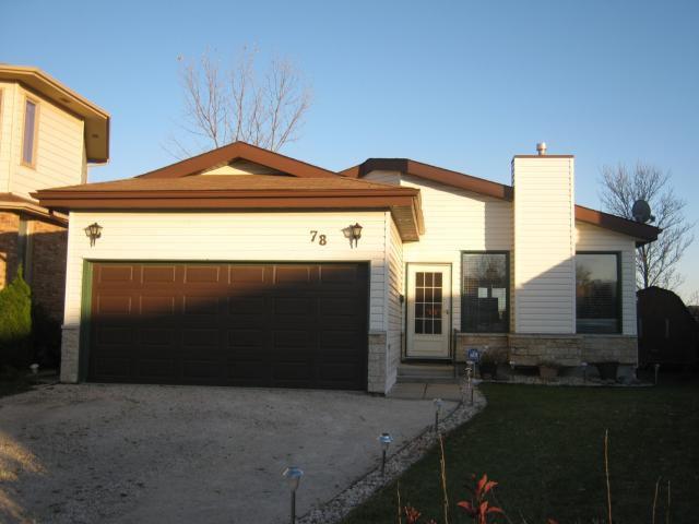 Main Photo: 78 PAYMENT Street in WINNIPEG: Fort Garry / Whyte Ridge / St Norbert Residential for sale (South Winnipeg)  : MLS®# 1020250