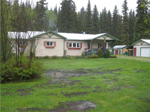 Main Photo: 8080 EDRIC Road in Prince George: Summit Lake House for sale (PG Rural North (Zone 76))  : MLS®# N201622