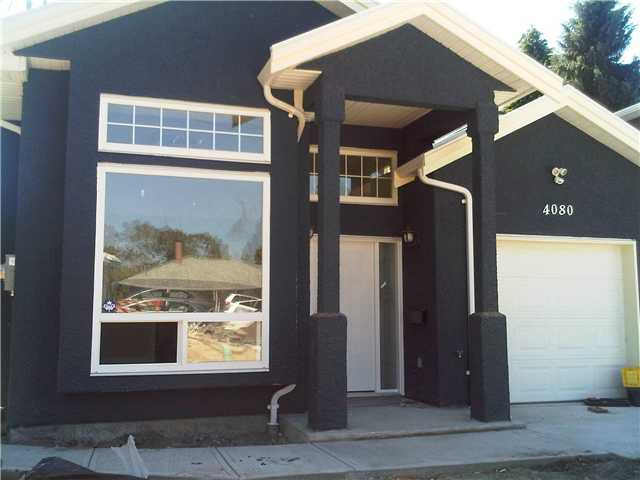 Main Photo: 4080 SPRUCE Street in Burnaby: Burnaby Hospital House 1/2 Duplex for sale (Burnaby South)  : MLS®# V847737