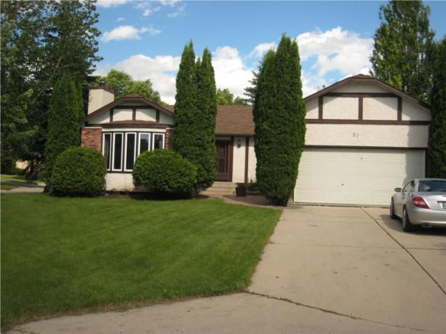 Main Photo: 86 BRENTLAWN Boulevard in WINNIPEG: Fort Garry / Whyte Ridge / St Norbert Residential for sale (South Winnipeg)  : MLS®# 1014452