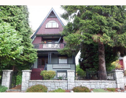 Main Photo: 1162 ROSE Street in Vancouver: Grandview VE House for sale (Vancouver East)  : MLS®# V791295