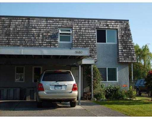 """Main Photo: 9480 RYAN Crescent in Richmond: South Arm Townhouse for sale in """"COUNTRY CLUB ESTATES"""" : MLS®# V770025"""
