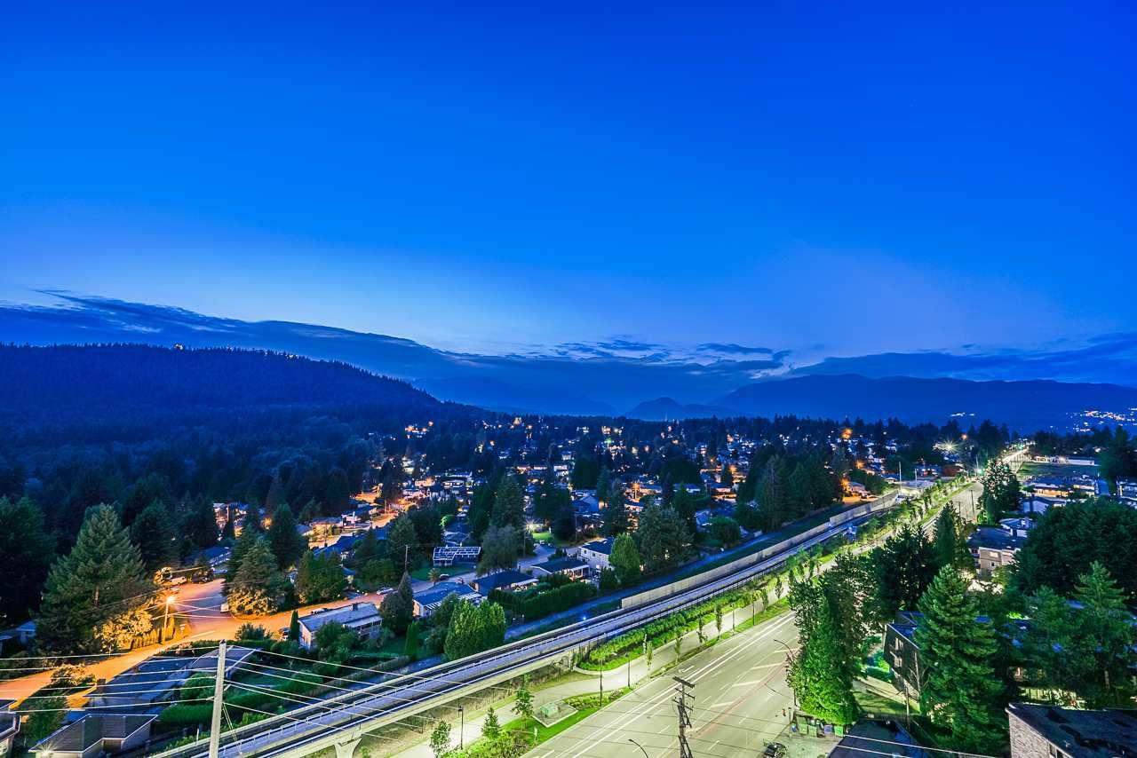 Main Photo: 1807 602 COMO LAKE Avenue in Coquitlam: Coquitlam West Condo for sale : MLS®# R2387766