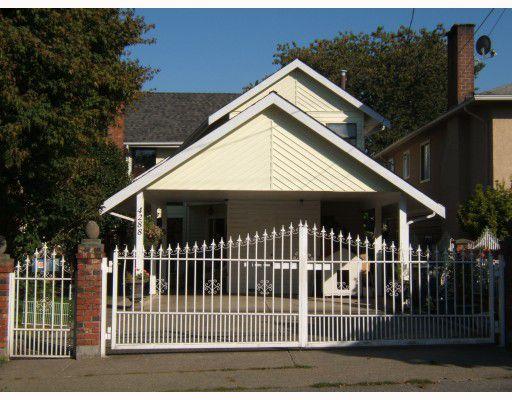 """Main Photo: 4288 WINDSOR Street in Vancouver: Fraser VE House for sale in """"FRASER"""" (Vancouver East)  : MLS®# V788976"""