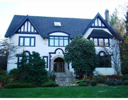 """Main Photo: 5950 NW MARINE Drive in Vancouver: University VW House for sale in """"UEL"""" (Vancouver West)  : MLS®# V800341"""