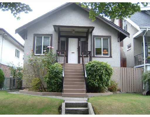 Main Photo: 2123 E 8TH Avenue in Vancouver: Grandview VE House for sale (Vancouver East)  : MLS®# V735509