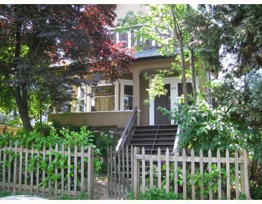 Main Photo: 610 E 13TH Avenue in Vancouver: Mount Pleasant VE House for sale (Vancouver East)  : MLS®# V807916