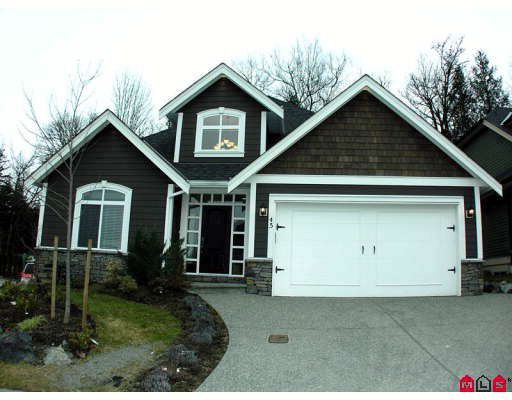 Main Photo: 45 3800 GOLF COURSE Drive in Abbotsford: Abbotsford East House for sale : MLS®# F2913378