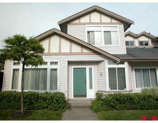 "Main Photo: 37 16325 82ND Avenue in Surrey: Fleetwood Tynehead Townhouse for sale in ""Hampton Woods"" : MLS®# F2818933"