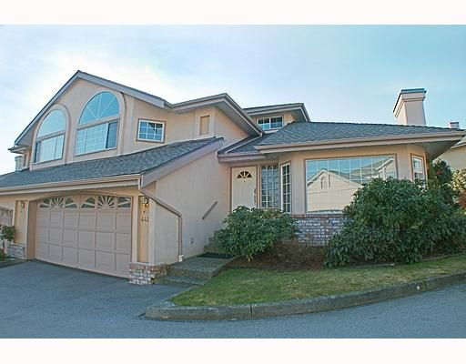 "Main Photo: 441A BROMLEY Street in Coquitlam: Coquitlam East House 1/2 Duplex for sale in ""SOUTHVIEW ESTATES"" : MLS®# V753573"