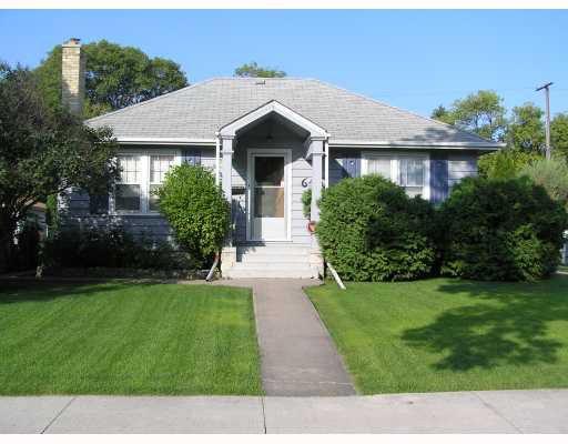 Main Photo: 645 CAMBRIDGE Street in WINNIPEG: River Heights / Tuxedo / Linden Woods Residential for sale (South Winnipeg)  : MLS®# 2920813