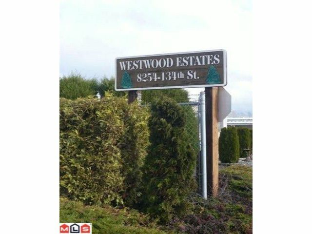 """Main Photo: 73 8254 134 Street in Surrey: Queen Mary Park Surrey Manufactured Home for sale in """"WESTWOOD ESTATES"""" : MLS®# F1028796"""
