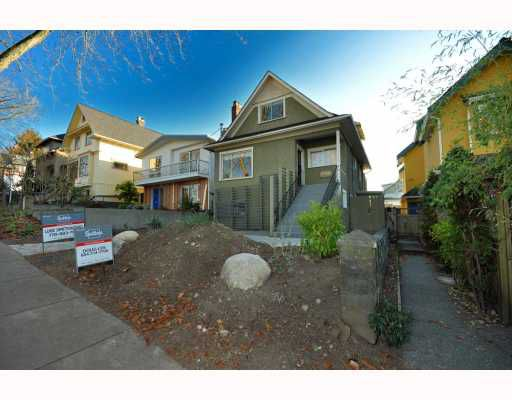 """Main Photo: 2056 E 3RD Avenue in Vancouver: Grandview VE House for sale in """"COMMERCIAL DRIVE"""" (Vancouver East)  : MLS®# V799384"""