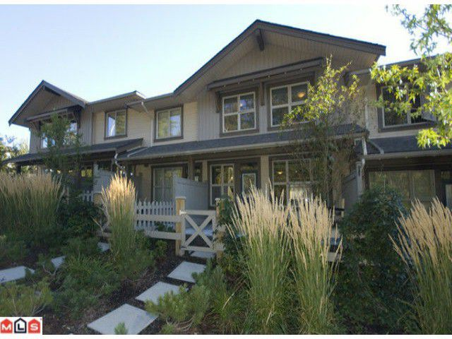 """Main Photo: 13 20326 68TH Avenue in Langley: Willoughby Heights Townhouse for sale in """"SUNPOINTE"""" : MLS®# F1007498"""