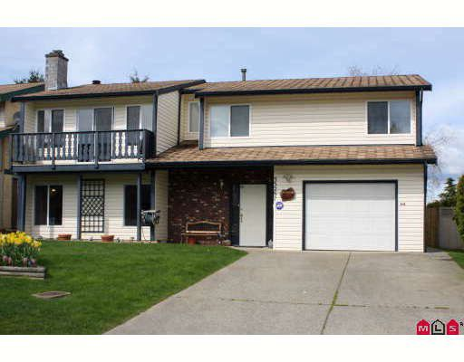 """Main Photo: 33287 NEWLANDS Avenue in Abbotsford: Central Abbotsford House for sale in """"QUIET BABICH AREA"""" : MLS®# F2908054"""