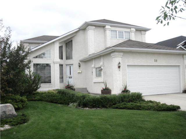 Main Photo: 59 DUNCAN NORRIE Drive in WINNIPEG: River Heights / Tuxedo / Linden Woods Residential for sale (South Winnipeg)  : MLS®# 1013480
