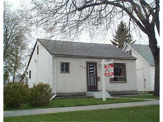 Main Photo: 350 MADISON Street in WINNIPEG: St James Residential for sale (West Winnipeg)  : MLS®# 2506977