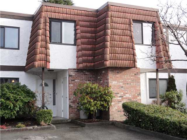 """Main Photo: 31 3171 SPRINGFIELD Drive in Richmond: Steveston North Townhouse for sale in """"SPRINGFIELD"""" : MLS®# V864463"""