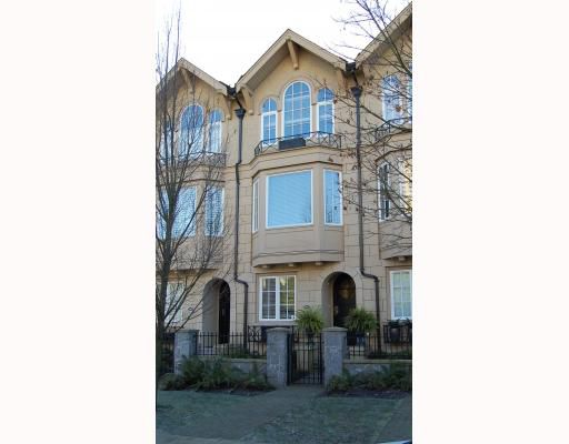 "Main Photo: 906 W 13TH Avenue in Vancouver: Fairview VW Townhouse for sale in ""THE BROWNSTONE"" (Vancouver West)  : MLS®# V812417"