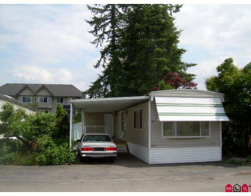 "Main Photo: 41 15820 FRASER Highway in Surrey: Fleetwood Tynehead Manufactured Home for sale in ""GREENTREE ESTATES"" : MLS®# F2912933"
