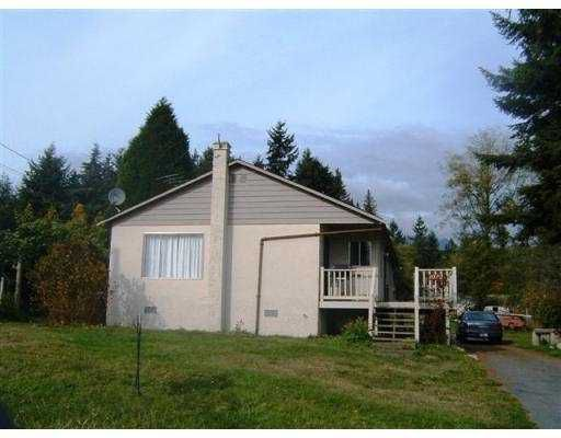 Main Photo: 1032 ROSAMUND RD in Gibsons: Gibsons & Area House for sale (Sunshine Coast)  : MLS®# V563003