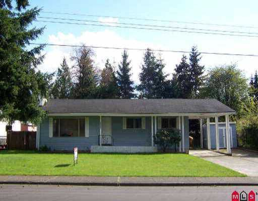 Main Photo: 34114 WOODBINE ST in Abbotsford: Central Abbotsford House for sale : MLS®# F2507977