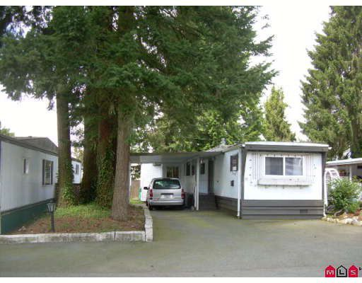 """Main Photo: 5 15820 FRASER Highway in Surrey: Fleetwood Tynehead Manufactured Home for sale in """"GREENTREE ESTATES"""" : MLS®# F2908982"""