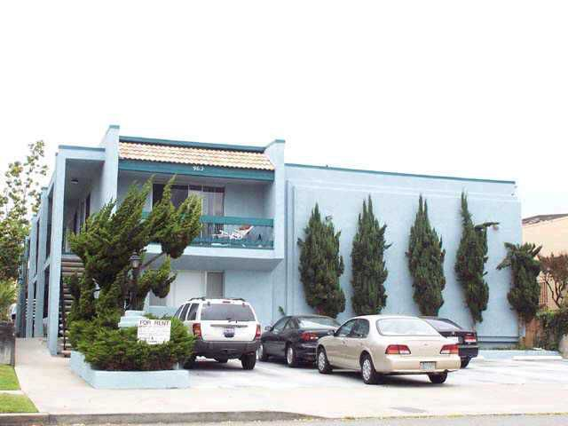 Main Photo: PACIFIC BEACH Home for sale or rent : 2 bedrooms : 962 LORING #1D
