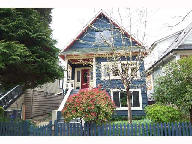 Main Photo: 2841 WINDSOR Street in Vancouver: Mount Pleasant VE House for sale (Vancouver East)  : MLS®# V819791