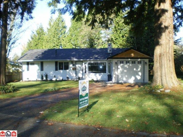 Main Photo: 20011 GRADE in Langley: Langley City House for sale : MLS®# F1027472
