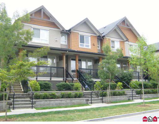 "Main Photo: 33 16772 61ST Avenue in Surrey: Cloverdale BC Townhouse for sale in ""Laredo"" (Cloverdale)  : MLS®# F2824173"