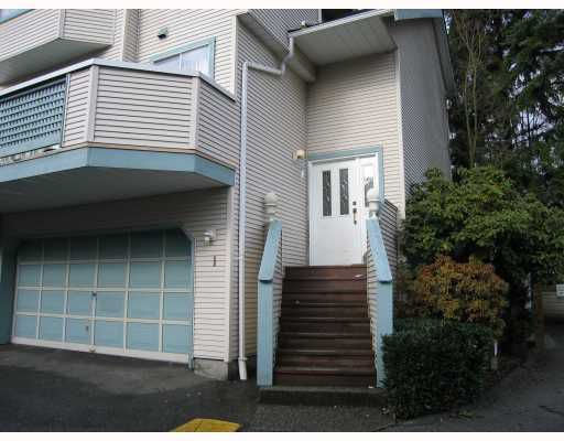 """Main Photo: 1 1216 JOHNSON Street in Coquitlam: Scott Creek Townhouse for sale in """"WEDGEWOOD HILLS"""" : MLS®# V752309"""