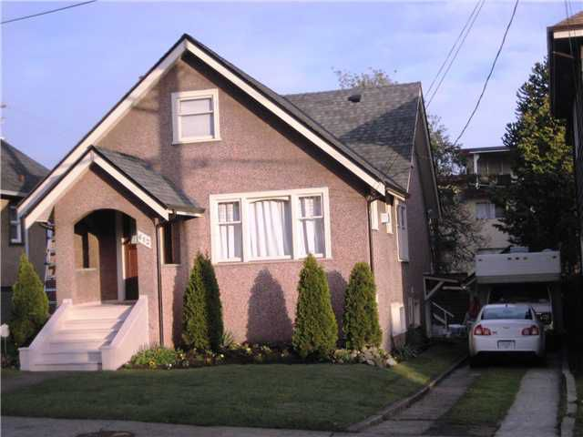 "Main Photo: 612 4TH Avenue in New Westminster: Uptown NW House for sale in ""UPTOWN"" : MLS®# V821394"