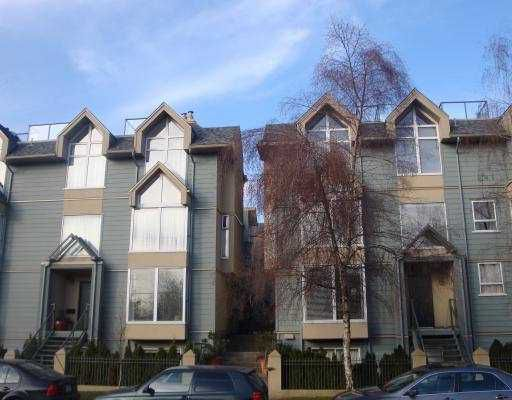 """Main Photo: 3001 LAUREL Street in Vancouver: Fairview VW Townhouse for sale in """"FAIRVIEW COURT"""" (Vancouver West)  : MLS®# V758543"""