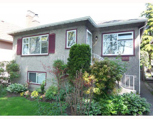 Main Photo: 2335 E 3RD Avenue in Vancouver: Grandview VE House for sale (Vancouver East)  : MLS®# V768111