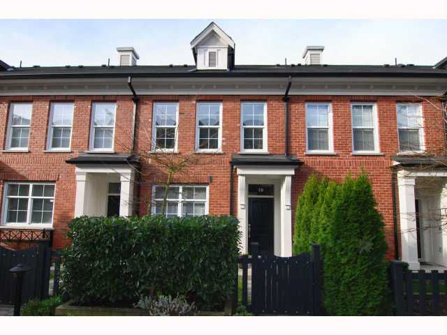 """Main Photo: 19 5812 TISDALL Street in Vancouver: Oakridge VW Townhouse for sale in """"TOWNE"""" (Vancouver West)  : MLS®# V814625"""