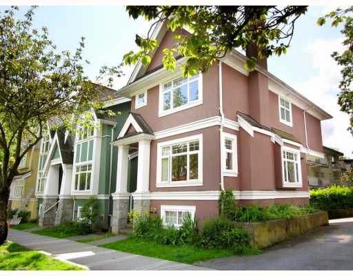 Main Photo: 2251 YEW Street in Vancouver: Kitsilano Townhouse for sale (Vancouver West)  : MLS®# V768257