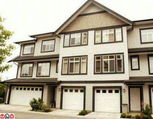 Main Photo: 59 19932 70TH Avenue in Langley: Willoughby Heights Townhouse for sale