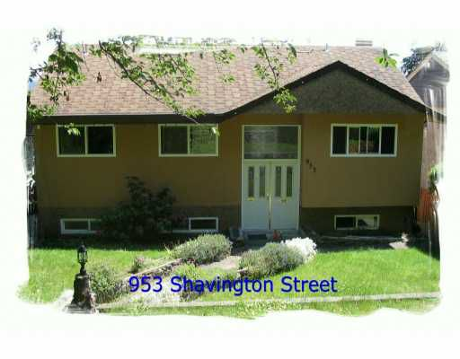 Main Photo: 953 SHAVINGTON ST in North Vancouver: Queensbury House for sale : MLS®# V595971
