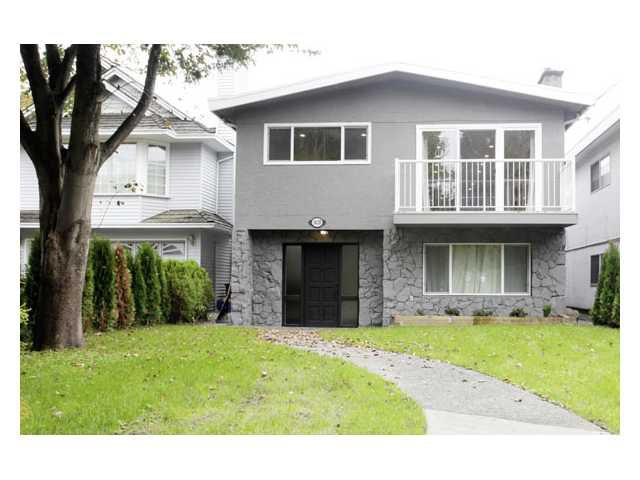 Main Photo: 1420 PARK Drive in Vancouver: Marpole House for sale (Vancouver West)  : MLS®# V866136