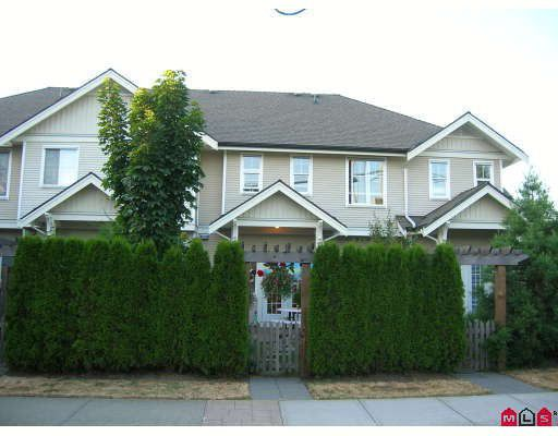 """Main Photo: 41 21535 88TH Avenue in Langley: Walnut Grove Townhouse for sale in """"REDWOOD LANE"""" : MLS®# F2822266"""