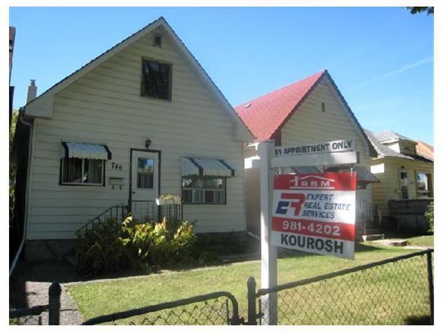 Main Photo: 746 LIPTON Street in WINNIPEG: West End / Wolseley Residential for sale (West Winnipeg)  : MLS®# 2714927